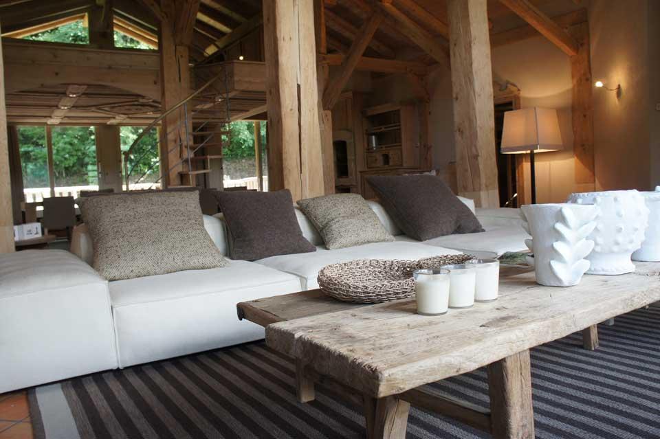 Maison HAND Lyon  design et mobilier contemporain  Ralisation chantier 2011  chalet en montagne