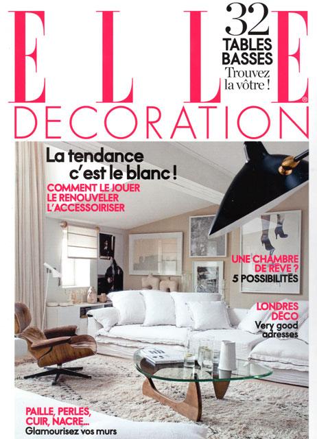 HAND Actualits ELLE DECO Janvier 2011 La Presse En Parle