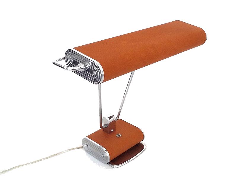 restauration d une lampe de bureau des annees 50