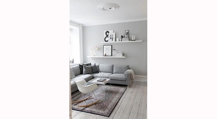 25 idees pour creer un salon gris