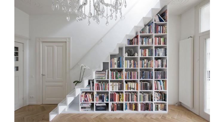 gagner de la place sous les escaliers