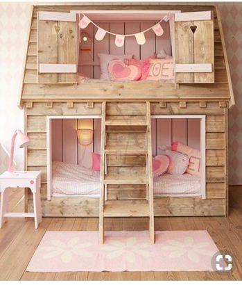 chambres d enfants 25 lits cabanes