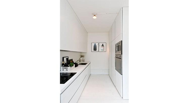 comment amenager une cuisine couloir