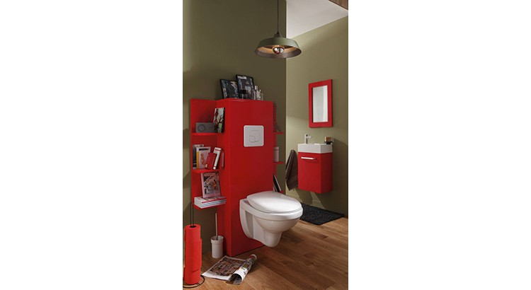 toilettes 20 facons d oser la couleur