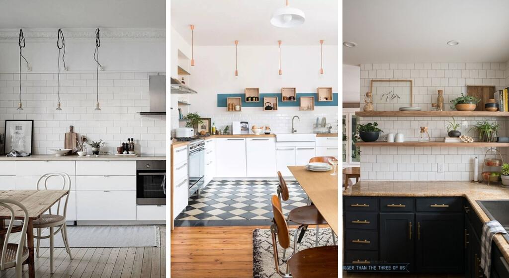 cuisines sans meuble haut pour s inspirer