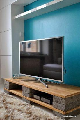 salon 21 coins tv a amenager sans