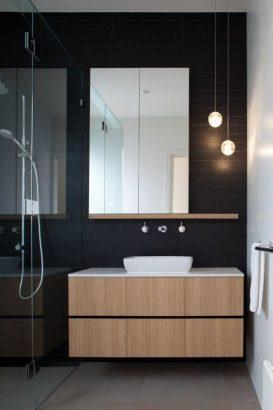 21 Salles De Bains Noires Elegantes Et Audacieuses
