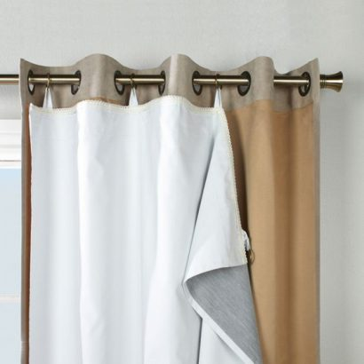 rideaux isolants thermiques