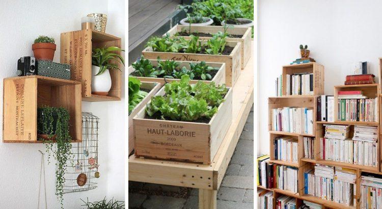 15 idees pour reutiliser les caisses