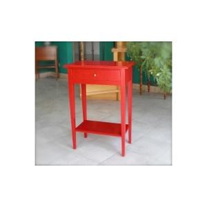Table téléphone Rouge Sang