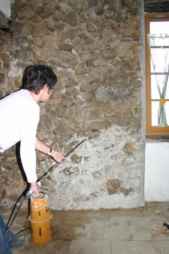 Nettoyage Mur Avant Peinture Fabulous Les Prises Murales