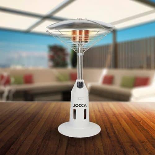 le meilleur parasol chauffant de table