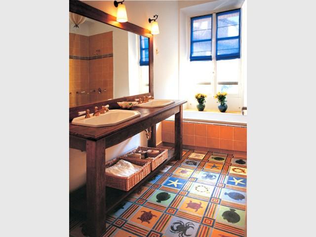 Salles de bains rtro  10 photos pour vous inspirer