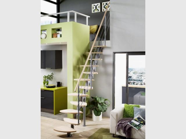 petits espaces un escalier gain de