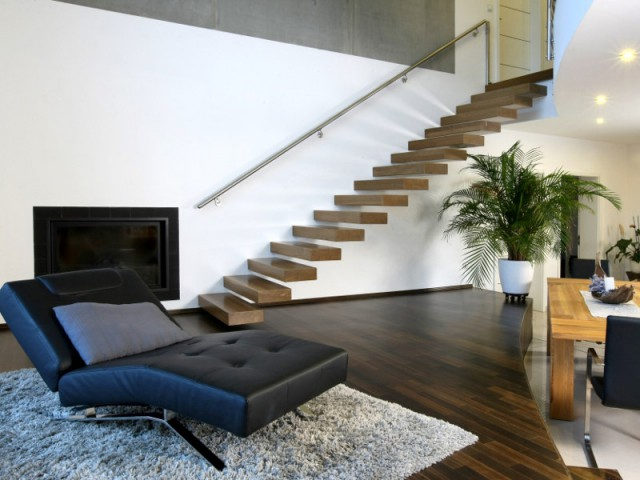 Amnagement intrieur  des escaliers totalement invisibles