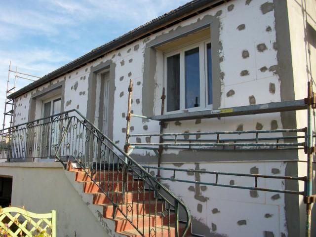 Isolation Thermique Par Lextrieur Pour Une Maison Des