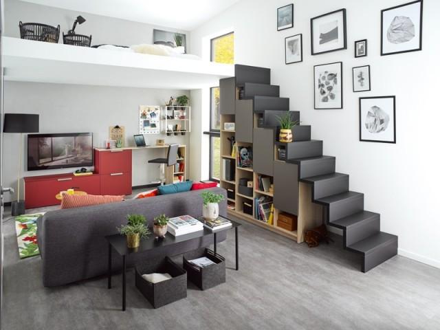 espace sous l escalier