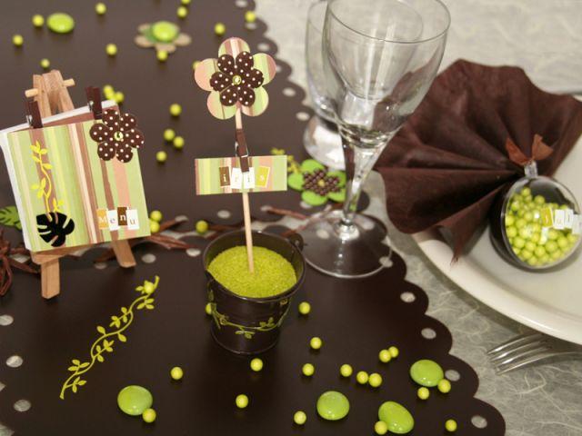 5 ides dco pour une table de mariage originale
