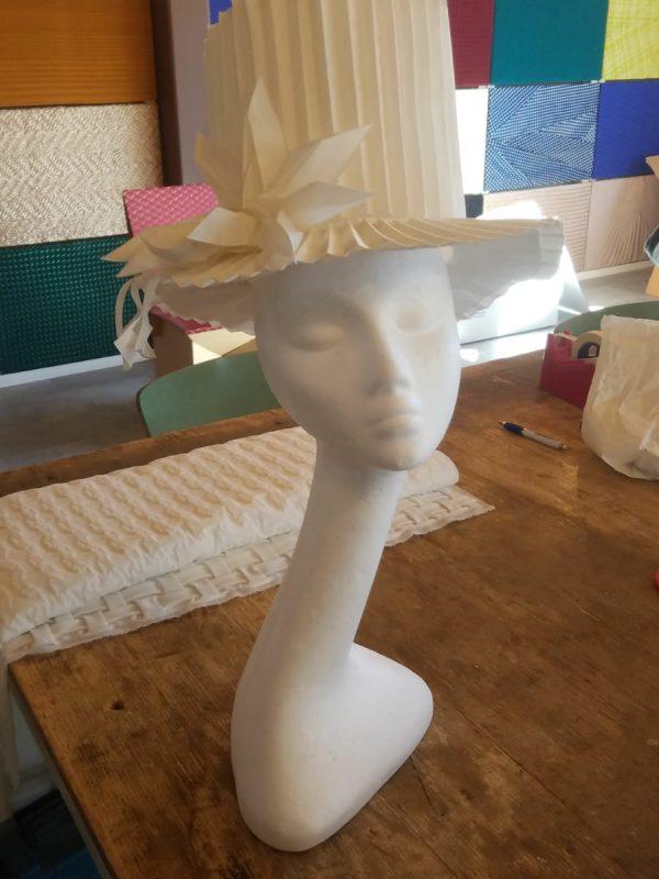 cappelli plissettati barbagli plissè