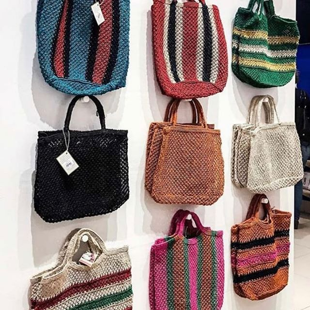 Regram @theconranshopofficial - Upgrade your shopping experience with The Conran Shop's exclusive bag collection from Fair Trade design house Maison Bengal. Each bag helps to fight poverty in Bangladesh and is hand woven by local artisans