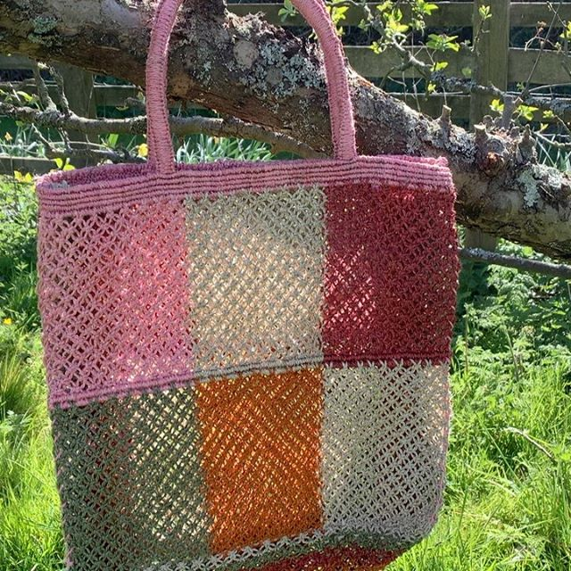 Blossom pink patchwork coming soon