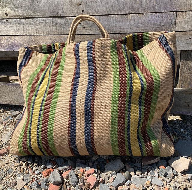 Another extra large jute bag is now available for all your escapades