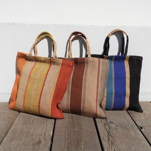 Hand loomed Poresh bags - available now on webshop