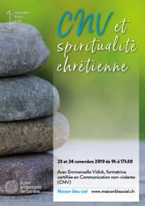 WE CNV et spiritualité chrétienne @ Centre John-Knox | Le Grand-Saconnex | Genève | Suisse
