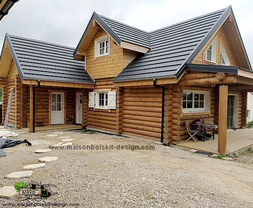 construction de maisons en bois en kit