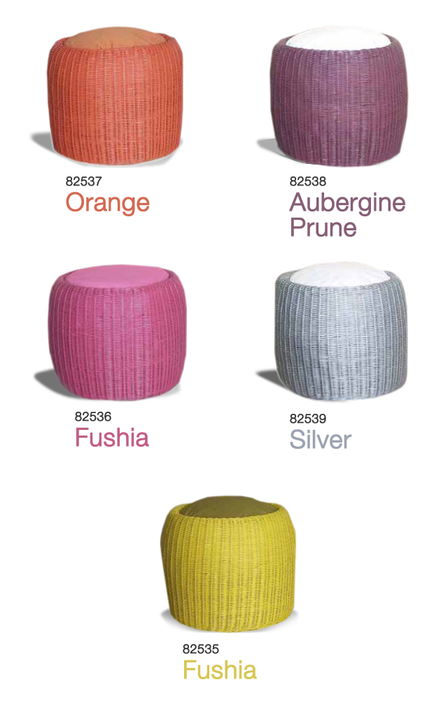 CHAMALLOW ROUND STOOL Synthetic Materials Sofa  UAE