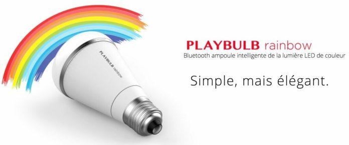 PLAYBULB rainbow - Smart LED de couleur Light-ampoule