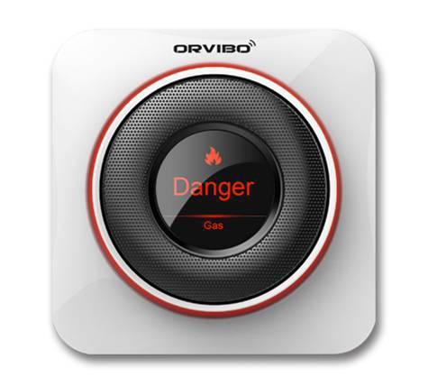 L'écran du détecteur de CO connecté qui alerte sur un risque lié à un fort taux de CO
