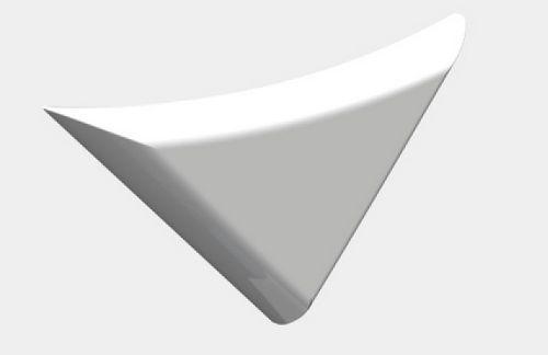 Le détecteur d'intrusion Korner dispose d'un design assez simple et discret