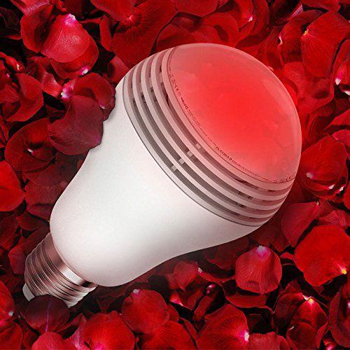 mipow playbulb color qui prend la couleurs des fleurs et qui la diffuse dans la pièce