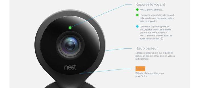 Brève présentation de Nest Cam