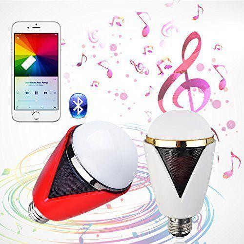 lampe avec haut-parleur Bluetooth musicale