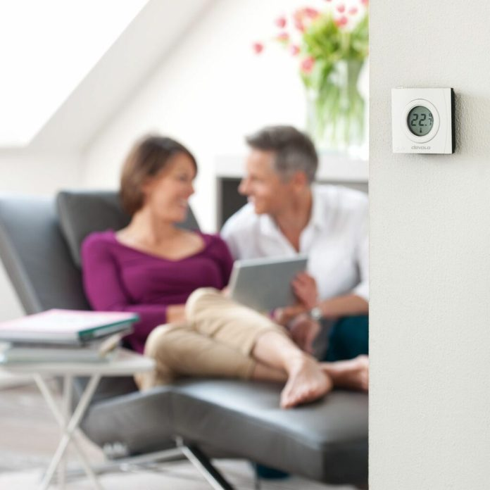 thermostat d'ambiance connecté devolo Home Control 9517