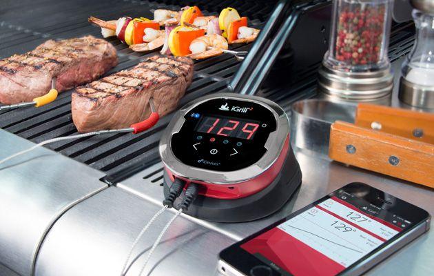 Thermomètre de cuisine connecté au smartphone