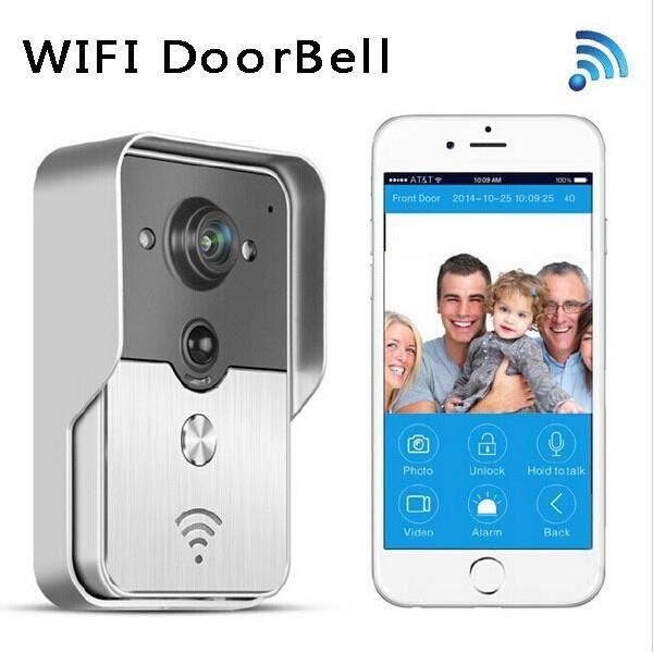 Interphone portier video connectée