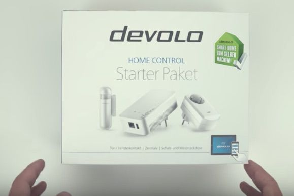 Smart Devolo Home Control kit de demarrage