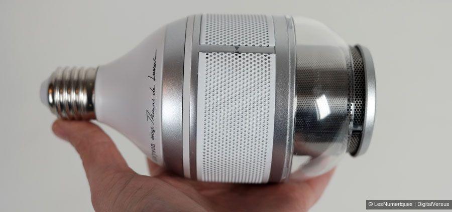 Ampoule connectée BW 1.1 dispose d'un culot E27.