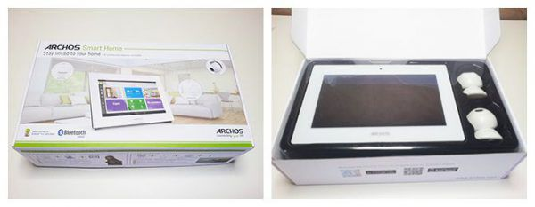 La box domotique connectée Archos SmartHome dans son emballage