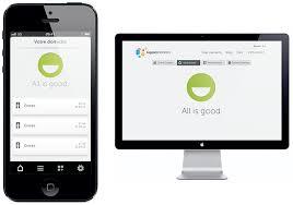 Interface web et application mobile du pack sécurité maison connectée GIGASET