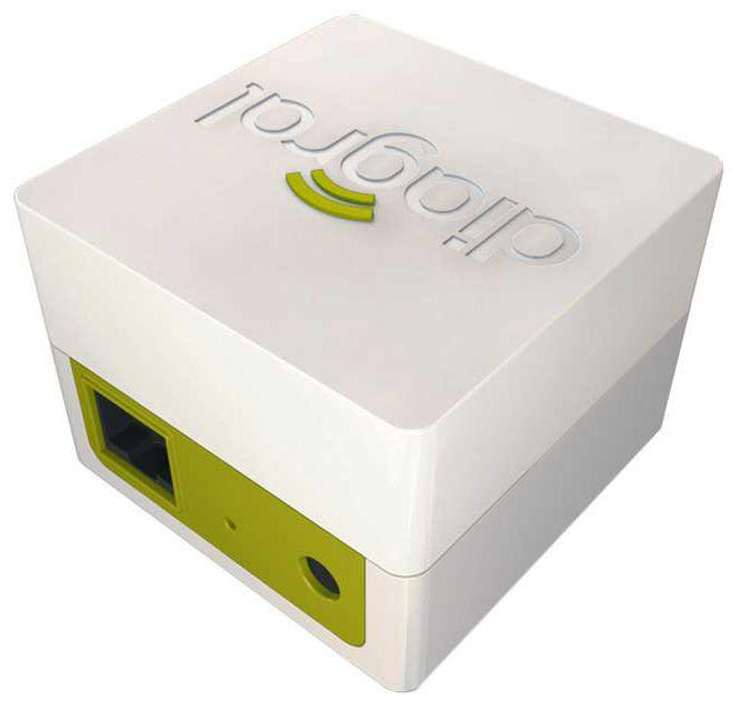 Diagral diag41bcf box domotique connect e le confort entre for Alarme box garage