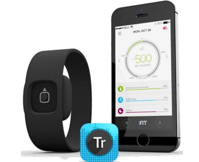 Capteur d'activité iFit Act-bracelet connecte
