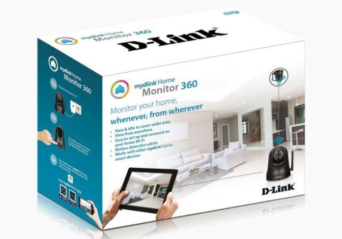DCS 5010L mydlink camera connectee 360 | D-Link