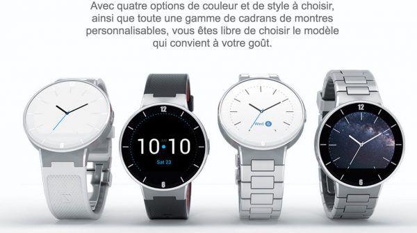Alcatel one touch montre connectee cardio sport-maison-connectee