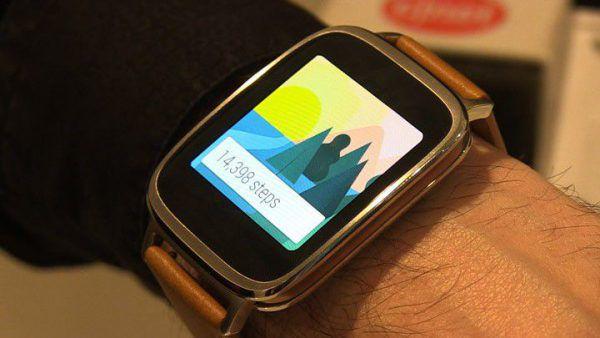 montre intelligente connectée ZenWatch 2 de chez asus