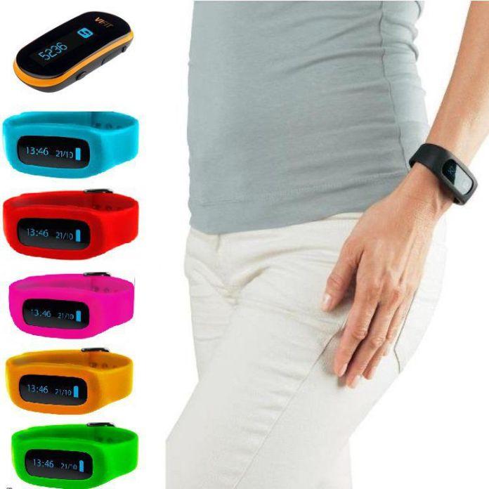 Le bracelet connecté ViFit Connect de Medisana est disponible en plusieurs couleurs