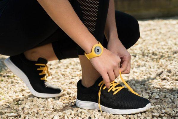 Bracelet connecté Withings GO jaune